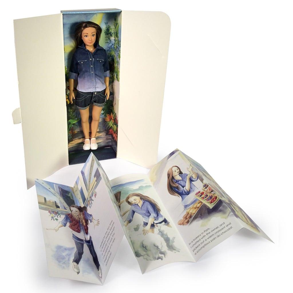 pudełko z lalką Lamilly